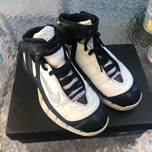 Nike Air Zoom Huarache 2K5 White & Black Shoes
